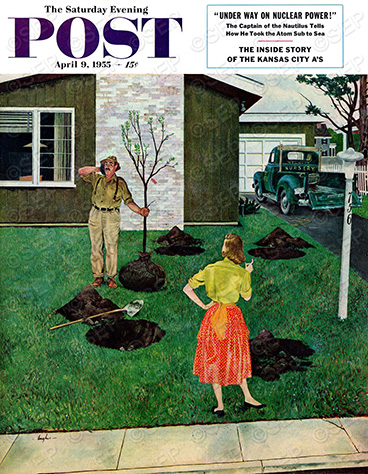 Put the Tree There? George Hughes April 9, 1955