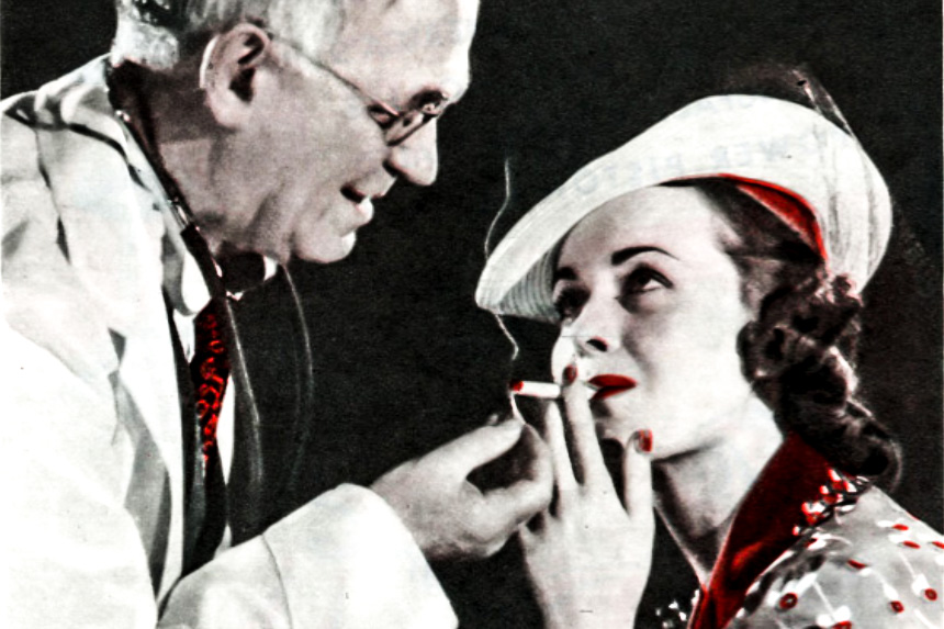 When Smoking Was Just What The Doctor Ordered The Saturday